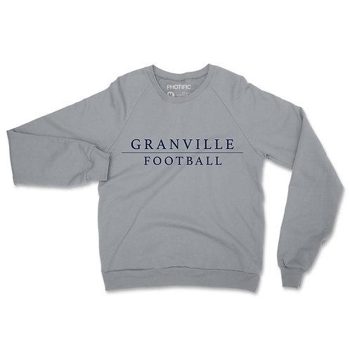 587 Grey Football Crewneck Sweatshirt