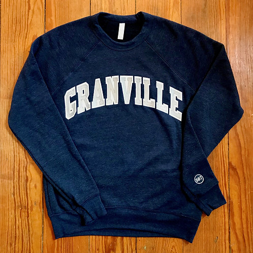 Discontinued Navy Blue Varsity Crew Stitched Lettering