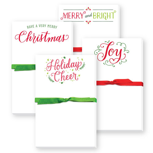 Holiday Mini Notepads