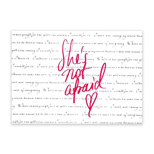 Girl Boss: She's Not Afraid