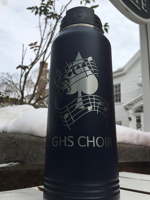 Arts Booster Sports Bottle - Choir