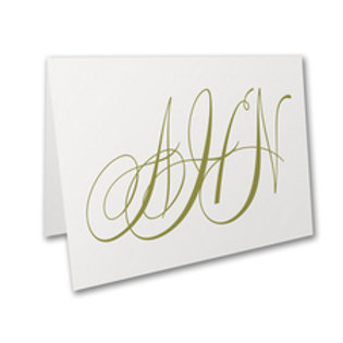 Personalized Notecards SD56226BWH