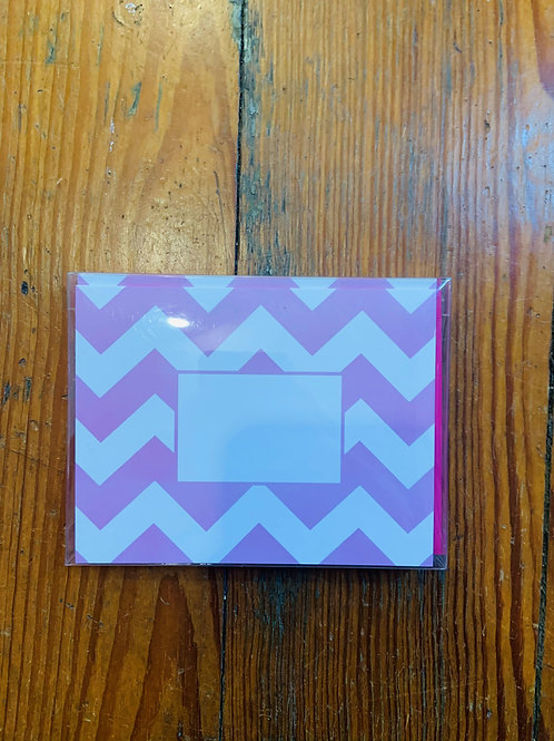 Bright Folded Notecard and Envelope Set