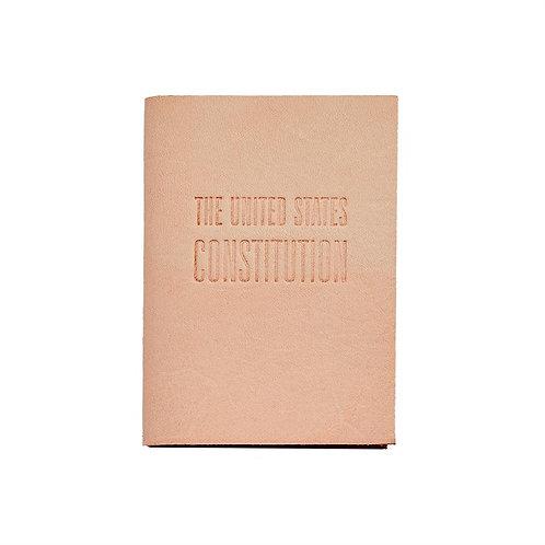 Mini United States Constitution Vachetta Leather