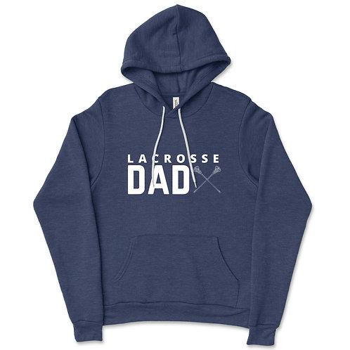 587Granville Navy Fleece Hooded Sweatshirt