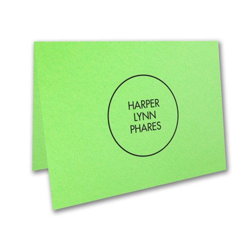 Personalized Notecards SD56051PU