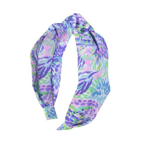 lilly pulitzer headband, shell of a party