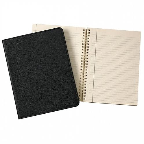"9"" Wire-O-Notebook Goatskin Leather - JS9-GTI"