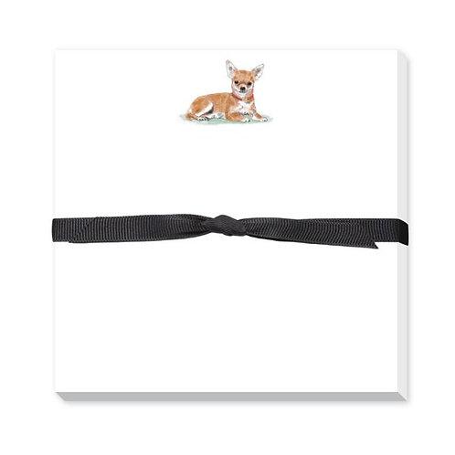 Donovan Design Chihuahua Notepad