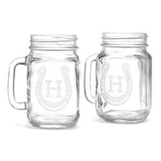 Horseshoe Drinking Jar