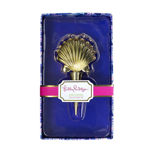 Lilly Pulitzer wine stopper, scale up