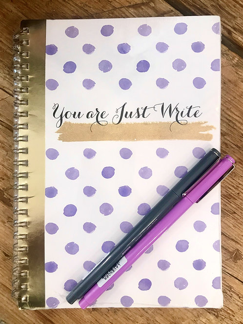 JW 50 Page Journal with 2 Le Pens