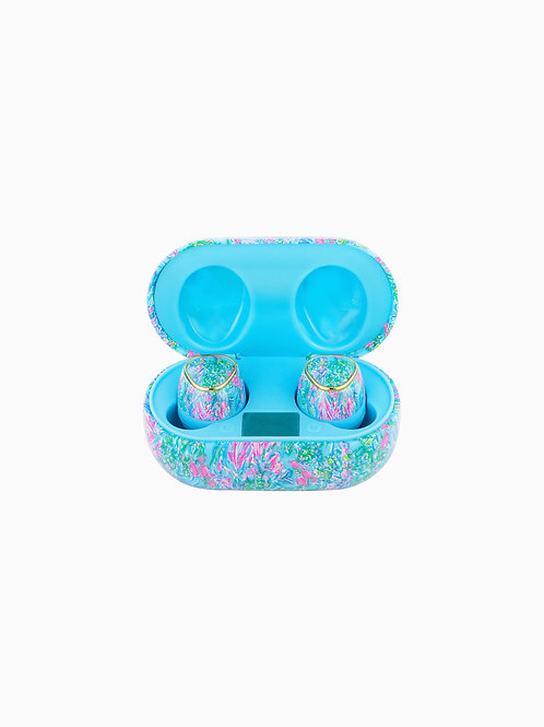 Lilly Pulitzer Wireless Headphones- Best Fishes 212502