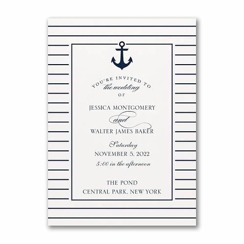 Anchored Love Invitation -TWS58373