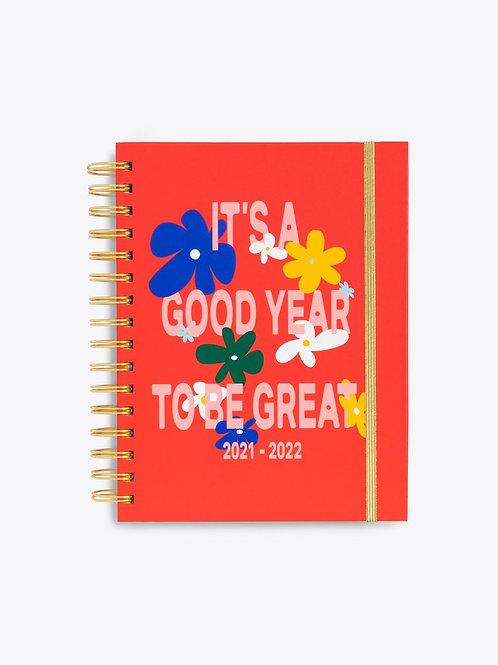 Medium 17 Month Academic Planner -  IT'S A GOOD YEAR