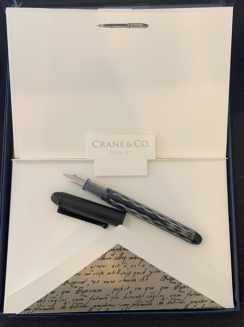 Crane Fountain Pen Stationery Giftset