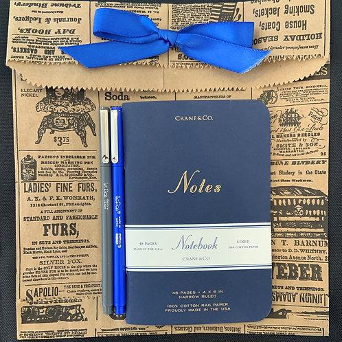 Crane Pocket Notebook Giftset