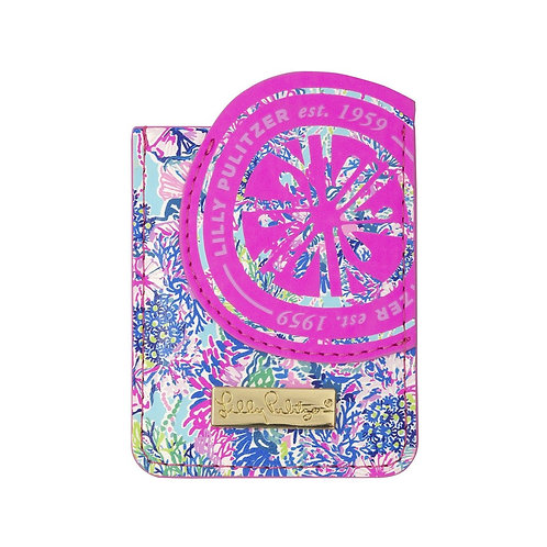 lilly pulitzer tech pocket, beach you to it
