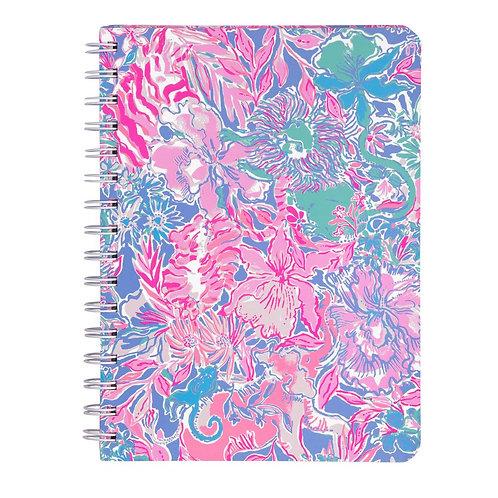 lilly pulitzer mini notebook, viva la lilly