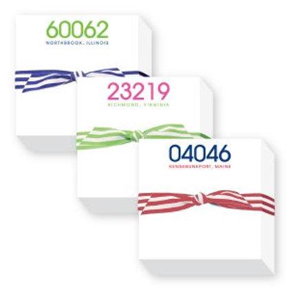 Zip Code Chubbie Notepad
