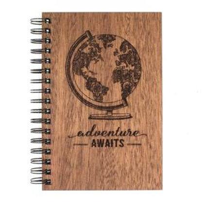 Adventure Awaits Spiral Journal