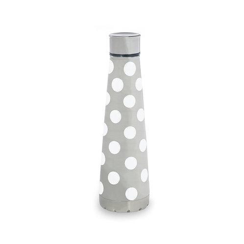 Kate Spade New York stainless steel water bottle, white dot
