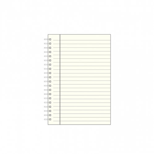 "Set of 3 7"" Wire-O-Notebook Refills - JS7"
