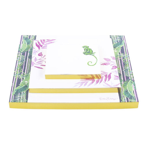 Lilly Pulitzer Notepad Set - chimpoiserie