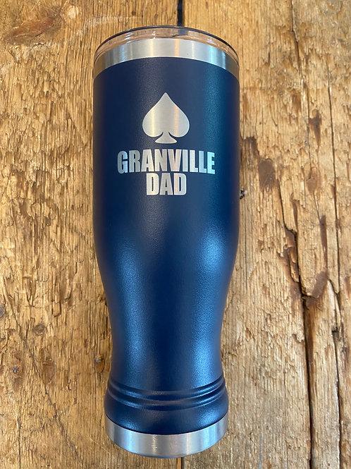 20 oz. Pilsner Tumbler with Lid - Granville Dad