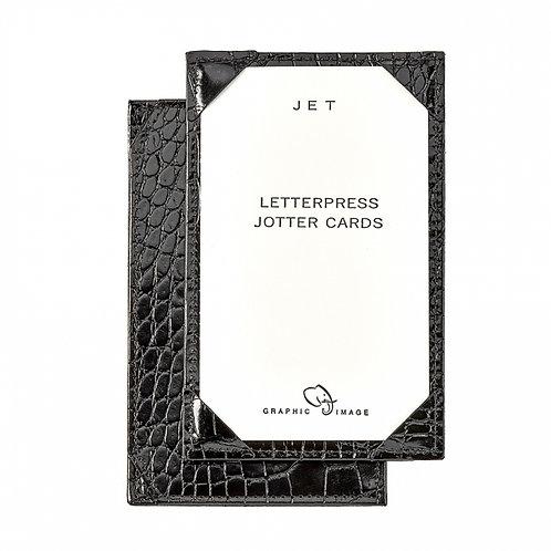 Jotter Black Crocodile Embossed Leather - JTR-CRO
