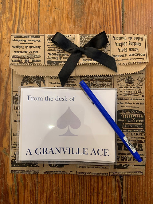 Ace Notecards and Le Pen Gift