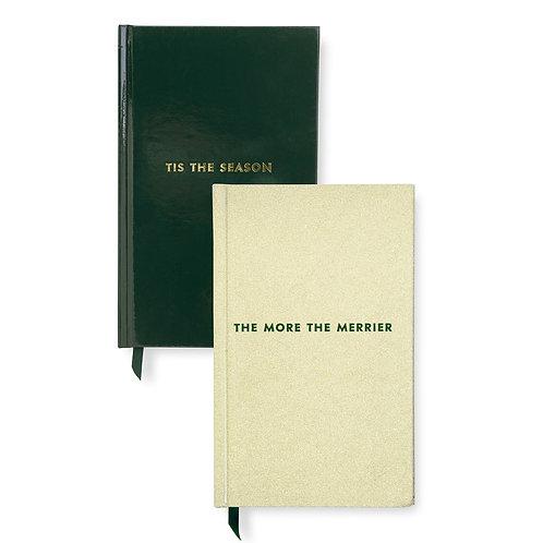 kate spade new york holiday journal set, tis the season