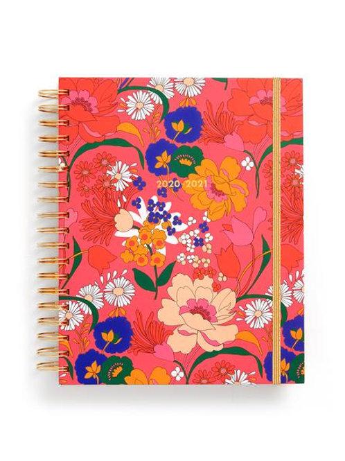 Large 17 Month Academic Planner -Super Bloom Pink