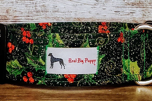Real Big Puppy Collar 20- Holiday