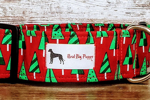 Real Big Puppy Collar 28 - Holiday