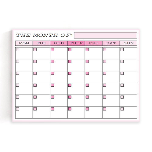 Kinsey's Collection: Pink Planner