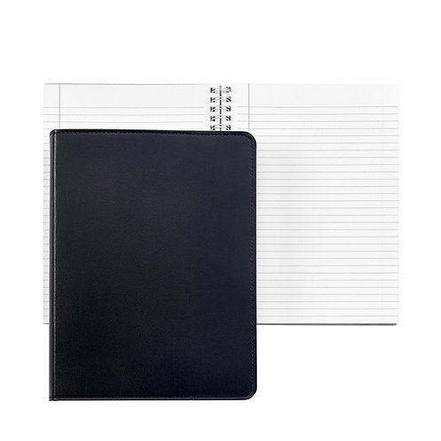 """9"""" Wire-O-Notebook Leather - JS9-BND"""