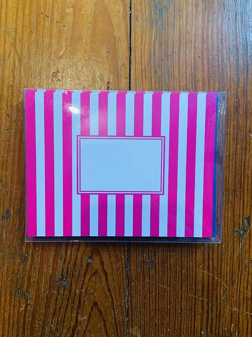Folded Notecard and Envelope Set