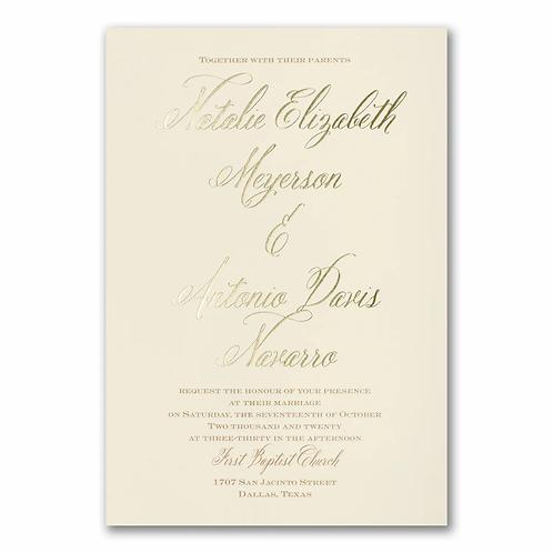 Inspiration Invitation -BS40197