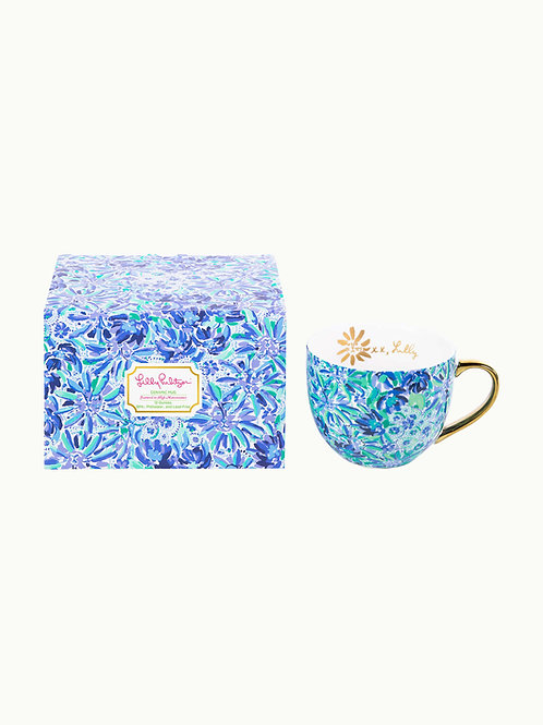 lilly pulitzer ceramic mug, high manetenance