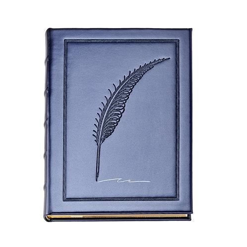 "9"" Metallic Blue Journal Vegan Leather - MLL-MET"