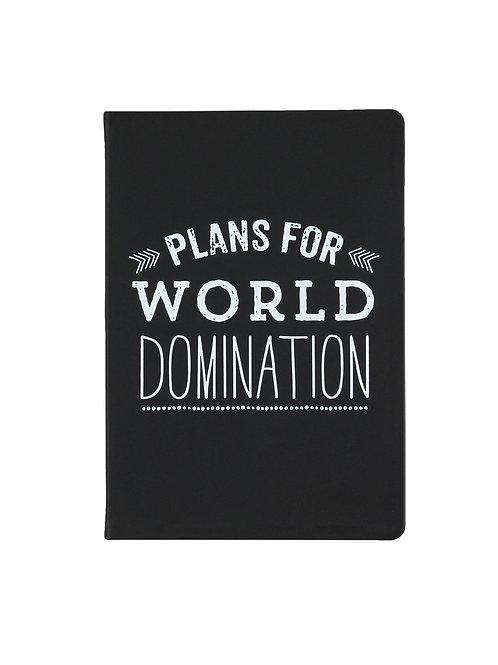 Eccolo World Traveler Plans For World Domination Journal