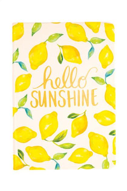 Eccolo Style Journal Lemons Hello Sunshine