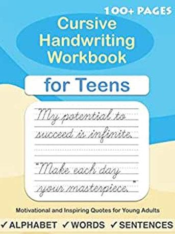Teen Cursive Book