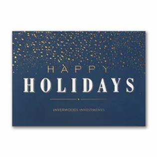Dazzling Holiday - Holiday Card YU59347C