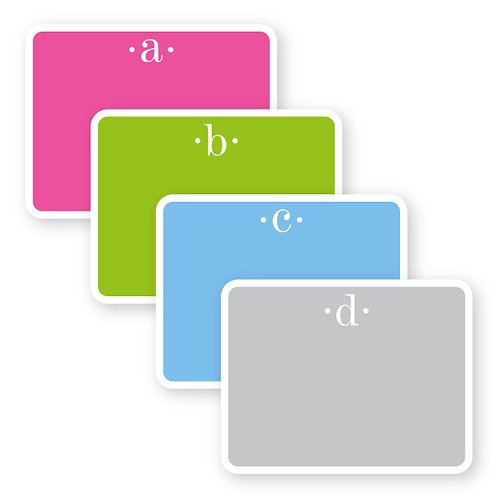Bold Flat Notecards