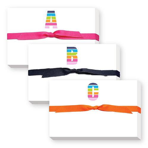 Rainbow Big & Bold Notepad