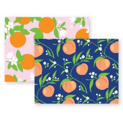 Large Oranges and Peaches Boutique Box