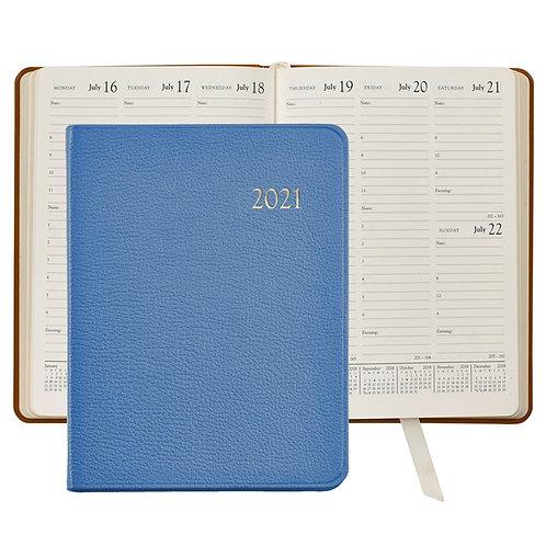 2021 Desk Diary Goatskin Leather - DDV-GTI