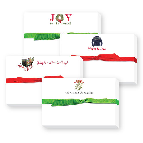 Holiday Pudgy Notepads